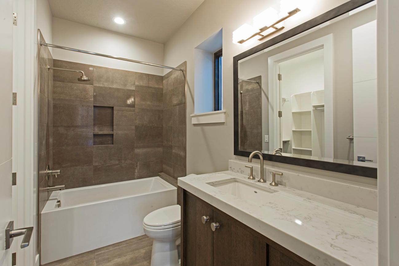 This luxurious bathroom shows we focus on craftsmanship